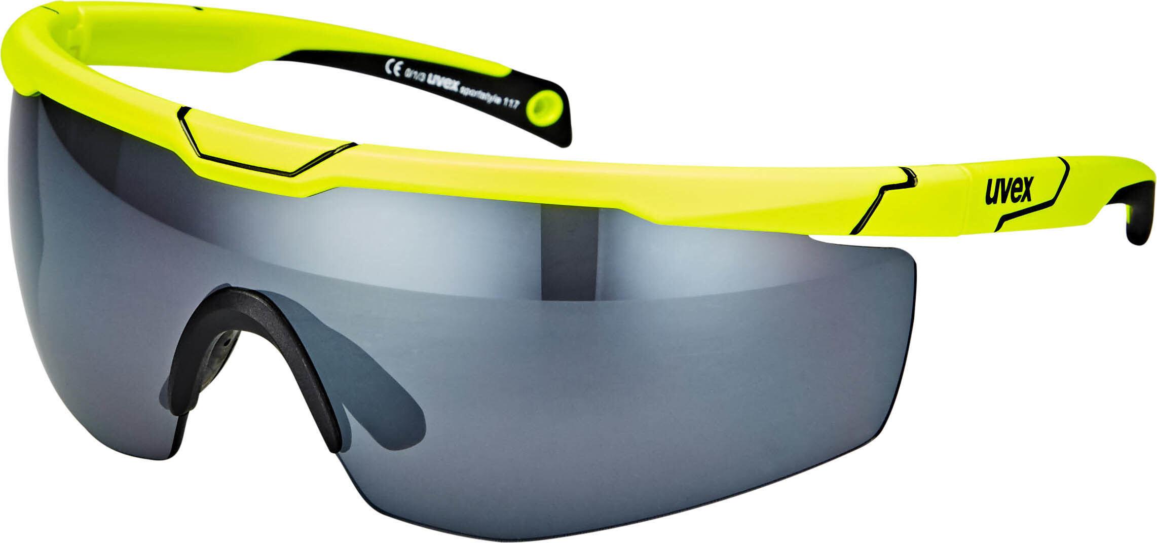 30aa8b723705 UVEX Sportstyle 117 Bike Glasses yellow at Bikester.co.uk